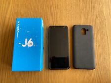 Samsung Galaxy J6 - 32GB - Black - Unlocked - Everything In Box