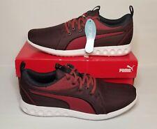 Puma Carson 2 Softfoam Shoes Tibetan Red Puma Black 190765 03 Men's Size 11 NEW