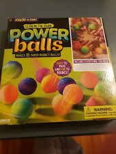 Made by Me Glow-in-the-Dark Power Balls Kit Craft Diy bouncy New