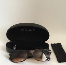 Brand New Women's Pilgrim Brown Tortoiseshell Sunglasses