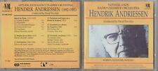 Hendrik Andriessen (CD, Nov-1992, NM Classics) RARE