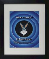 Bugs Bunny Doctor Cel Warner Bros production cel hand painted new frame B