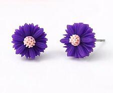Daisy Flower Fashion Vintage Stud Earrings 10mm Jewellery Womens  Gift