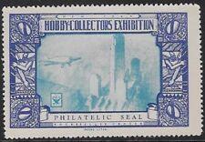Usa Cinderella stamp: Hobby Collectors Exhib, Plane over Rockefeller Ctr- dw622b