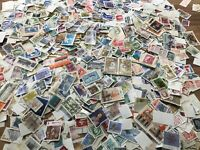 Canada stamps Off paper 100 picked at random Lucky dip