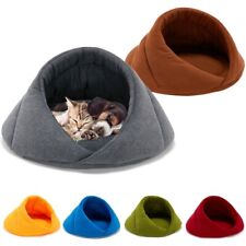 Warm Cat Cave House Pet Bed Dog Cushion Sleeping Hiding Private Place For Pets