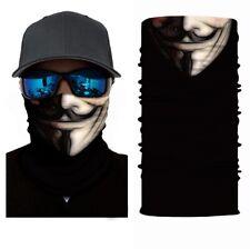 Fishing Shield Bandana Cloth Face Mask Facemask Cover V For Vendetta