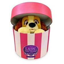 Disney Lady Plush in Hatbox Lady and the Tramp 65th Limited Release Small New