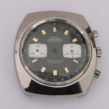 Valjoux 7733, chronographe case with dial 30 min counter, NOS, swiss made