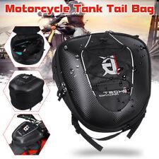 Motorcycle Rear Tail Seat Tank Bag Saddle Helmet Shoulder Storage Waterproof  ]