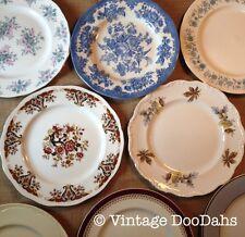 Job Lot Of 50 Vintage Mismatching Dinner Plates - Tea Parties - Weddings