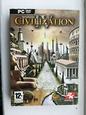 Sid Meiers Civilization IV 4 (PC DVD) CIB Manual Sleeve Chart included