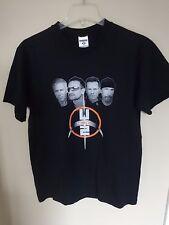 Vintage U2 Band Graphic Printed 2009 Atlanta Ga Dome Tour T-Shirt Size Men M