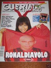 GUERIN SPORTIVO=N°20 1997=NATALIA ESTRADA COVER=ASSENTE POSTER STORY BAGGIO