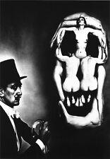 Cartel De Impresión Cráneo Dali -