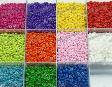 Lots 220pcs assorted mixed 11color resin Sewing Mini flatback Buttons 5mm 0.2in
