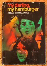 MY DARLING, MY HAMBURGER Paul Zindel 1969 HBDJ scarce L1