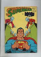 Superman et Batman n° 61 - SAGE 1974. Bon état. (réf. S1).