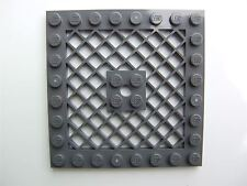 1 x Lego Grey Grid plate (size 8x8) - 4299022 (Parts & Pieces)
