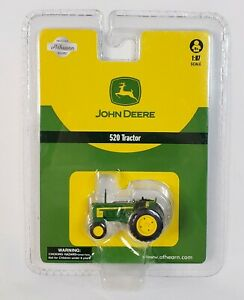Athearn John Deere 520 Tractor - 1:87 HO Scale - Item #77082 - Factory Sealed