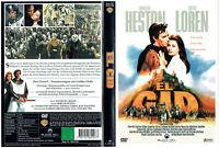 (DVD) El Cid - Charlton Heston, Sophia Loren, Raf Vallone (1961)