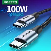 Ugreen USB C to USB Type C for Samsung S20 PD 100W 60W Cable for MacBook iPad