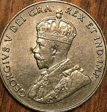 1923 CANADA 5 CENTS GEORGE V COIN - Fantastic example!