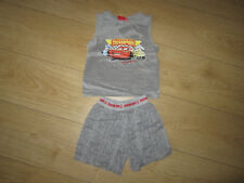 Pyjama short + tee-shirt Cars Disney 2/3 ans