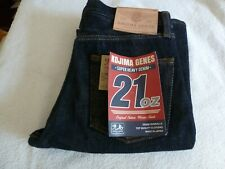 NEW JAPAN KOJIMA JEANS GENES 34/32 BOOT CUT 21oz MENS 1 WASH Motorcycle Jeans