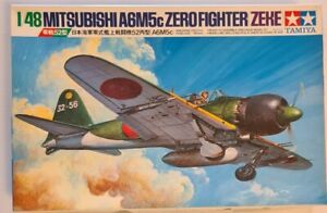 61027 Tamiya 1/48 Mitsubishi A6M5c Zero Fighter (Zeke) Model Kit