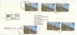 Fidschi 1982 R-MeF-NATIONAL BANK of FIJI-BU Nr. 408 (6) Lautoka / Frankfurt (M)