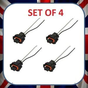 4X Injector Repair Kit Set Wiring Loom & Plug for Saab 9-3 & 9-5 1.9 Diesel TTID