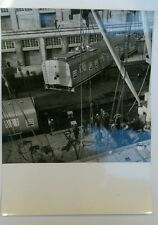 "LLOYD TRIESTINO FOTO D'EPOCA ORIGINALI -GIORNALFOTO TRIESTE ""FOR BOMBAY RAILWAYS"
