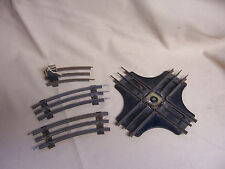 LOT of O Gauge Track Pieces Curved Marx 90 Degree + Crossover intersection