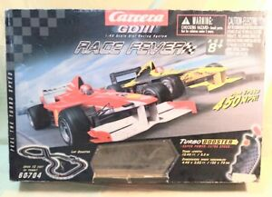 """Scalextric """"Race Fever"""" Go 1/43 scale slot car race track set"""