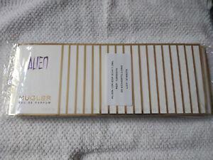 ALIEN - THIERRY MUGLER - EAU DE PARFUM - 10 ECHANTILLONS 1,2 ML - 12ML