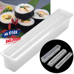 3pcs Sushi Maker Kit DIY Easy Chef Mould Roller Kitchen Rice Roll Mold