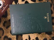 ROLEX ITA 2007 BOOKLET LIBRETTO YACHT-MASTER II ITALIANO 116680 116681 116688