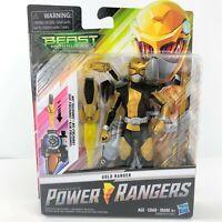 """New Genuine Power Rangers Beast Morphers Gold Ranger 6"""" Figure"""