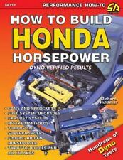 How to Build Honda Horsepower Book~Dyno Test Results~DX~Prelude~Acura~More~NEW!