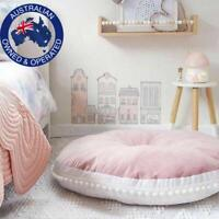 90cm Round Thick Cushion Pillow Pad  Decor Floor Seat Baby Kids Home Bed Cotton