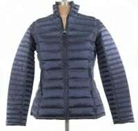 Barbour NWT Clyde Jacket Quilted Puffer Fibre Down Dark Royal Blue US 10 $279