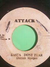 No Fear Derrick Morgan ataque Rasta