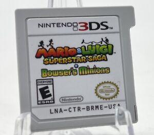 Mario & Luigi: Superstar Saga and Bowser's Minions Nintendo 3DS Cartridge Only