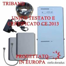 AMPLIFICATORE RIPETITORE SEGNALE CELLULARE TRIBAND GSM DCS UMTS BOOSTER