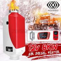 Warmtoo Metall Gehäuse 12V 8KW Diesel Luft Heizung Thermostat Für Rv Wohnwagen H