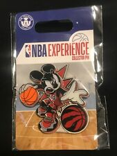Disney Pin DS Mickey Mouse NBA Experience Basketball Uniform Toronto Raptors