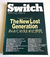 SWITCH JAPAN MAGAZINE SPECIAL ISSUE 1988 Bruce Weber Chet Baker David Byrne
