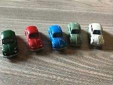 Wiking 1zu87 5 x VW Käfer verschiedene Farben