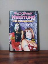 WILD WOMEN OF WRESTLING: THE NEXT GENERATION RARE 2 DVD SET/WWE WWF SHIMMER